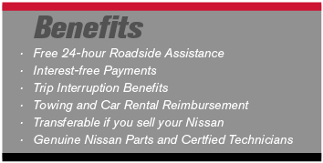 nissan service contract